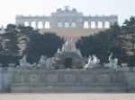 Roman Ruin and the Gloriette