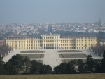 View of the Schönbrunn Palace and Vienna from the Gloriette